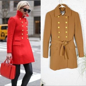 J crew Double Cloth Townhouse Trench